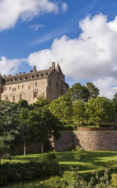 Domaine du Château de la Roche-Jagu ©Cédric Bossard