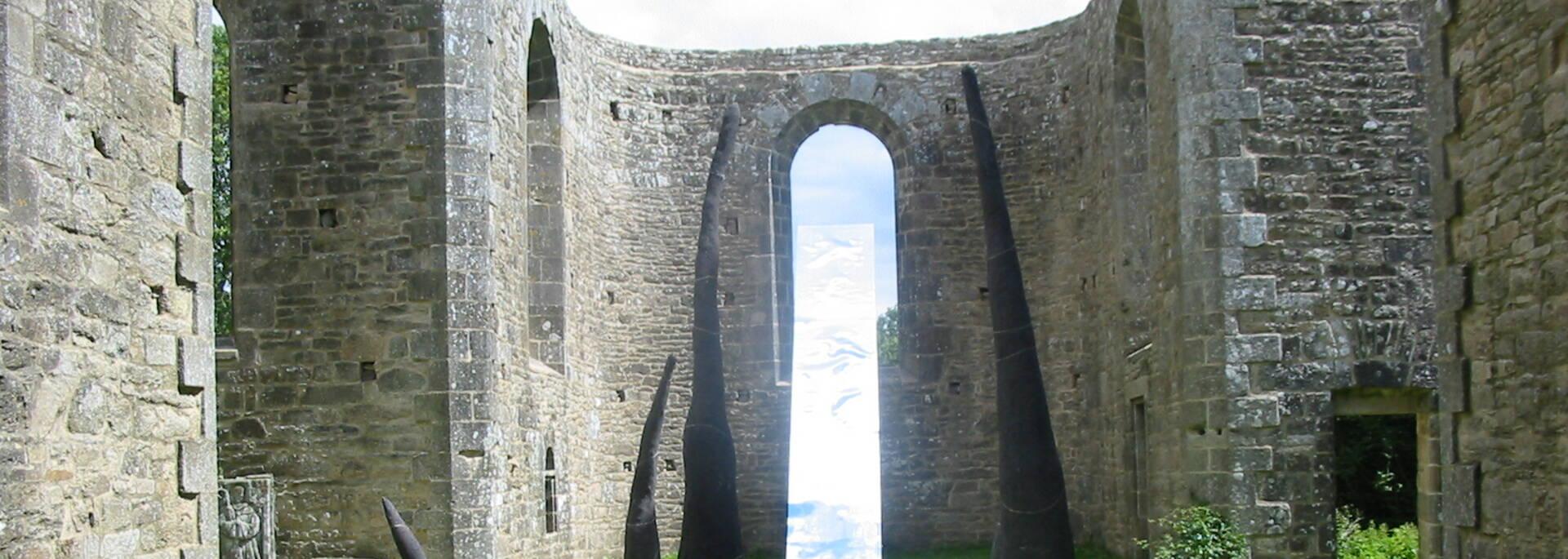 Art contemporain @Abbaye de Coat Mallouen