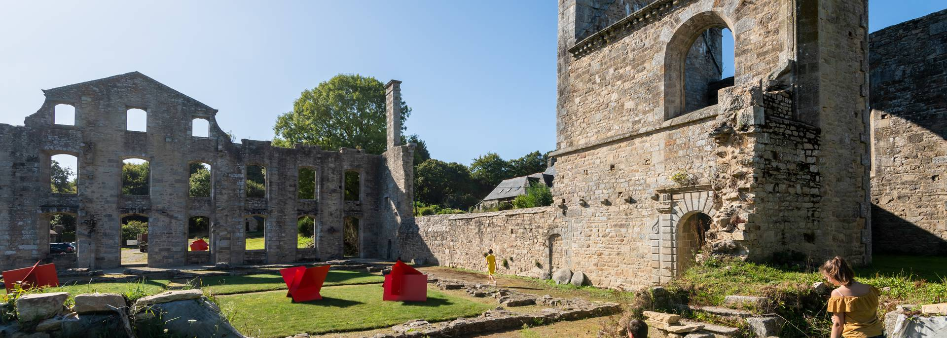 Abbaye de Coat Mallouen @Emmanuel Berthier