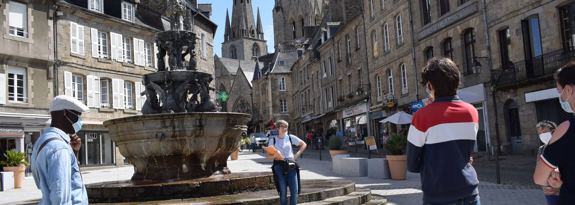 Visite guidée de Guingamp avec Julie