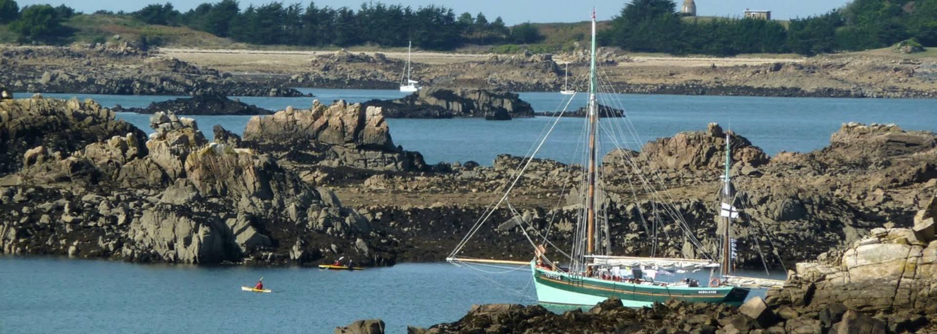 L'archipel de Bréhat - balade en mer avec voiles et traditions ©Cedric Lagrifoul