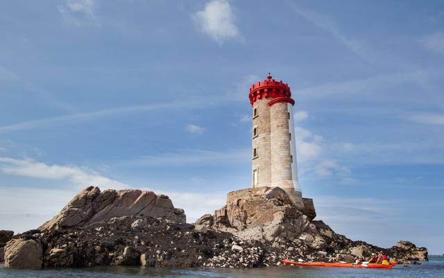 Phare de la Croix en Baie de Paimpol ©P. Torset