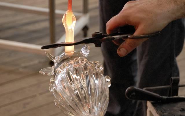 Travail du verre ©C. Le Brun