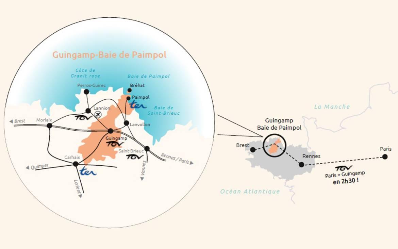 Destination Guingamp - Baie de Paimpol