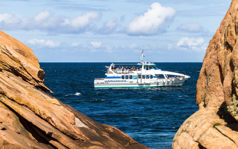 Vedette de Bréhat, excursions maritimes ©Vedettes de Bréhat