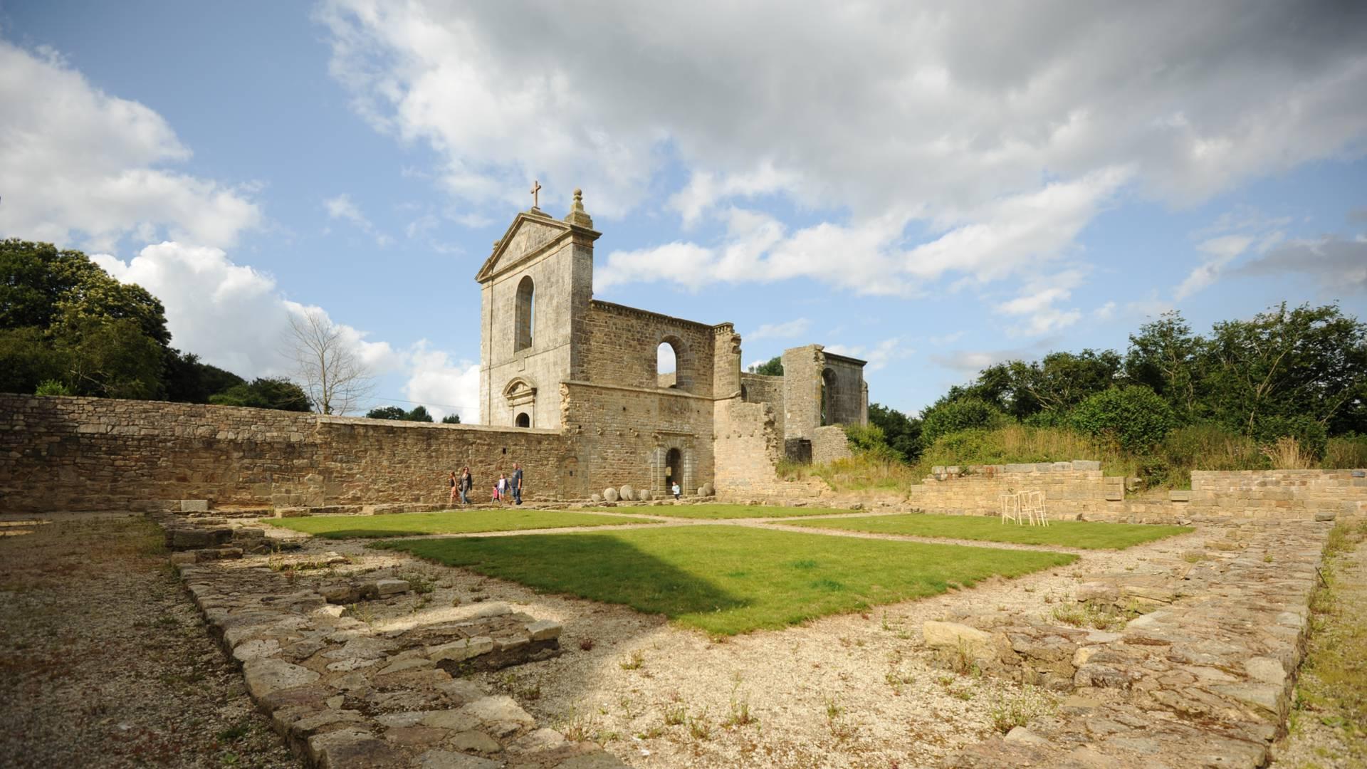 Abbaye de Koad Malouen ©C. Le Lan