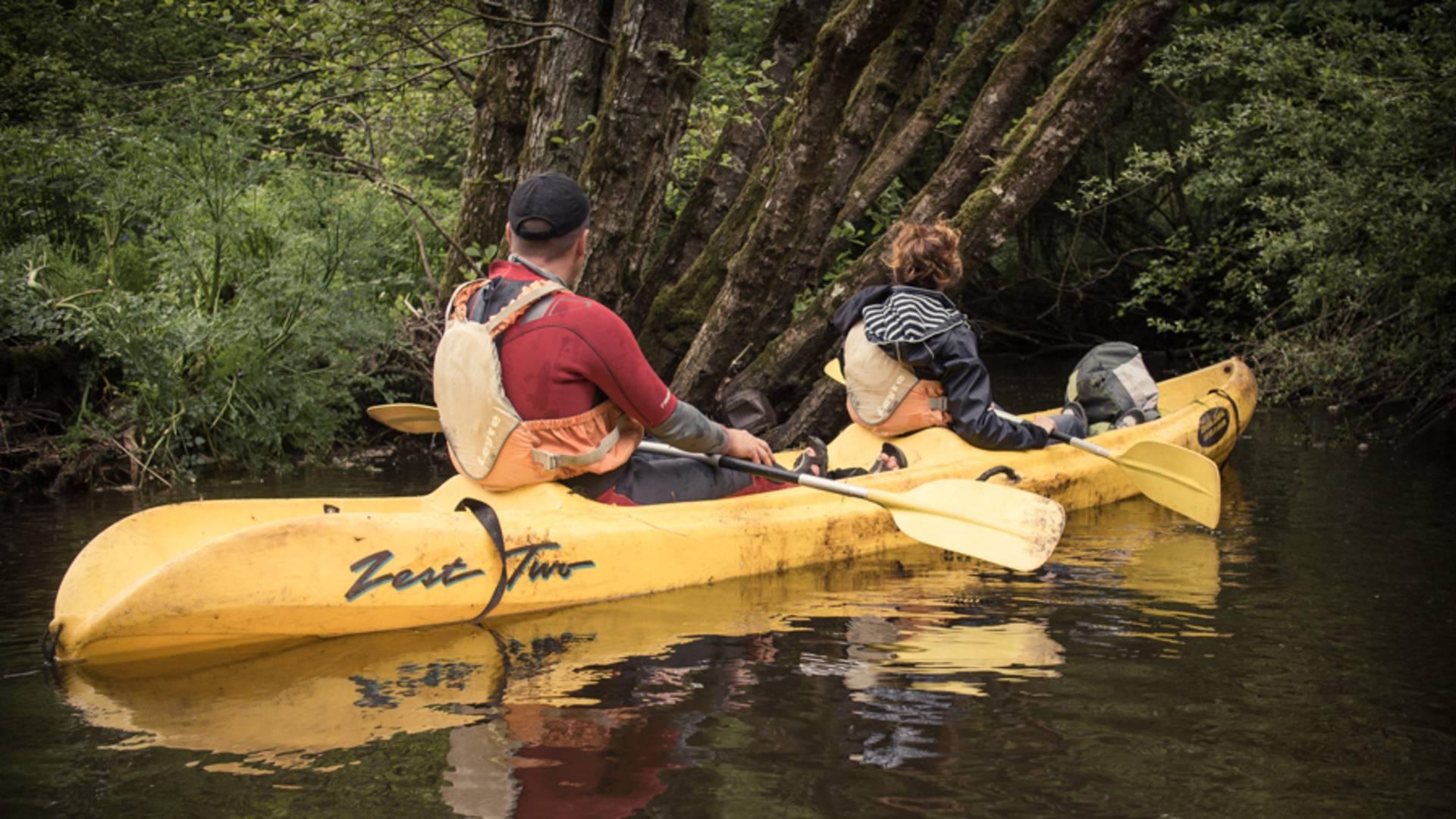 Station sports et nature à Belle-Isle-en-Terre - kayak