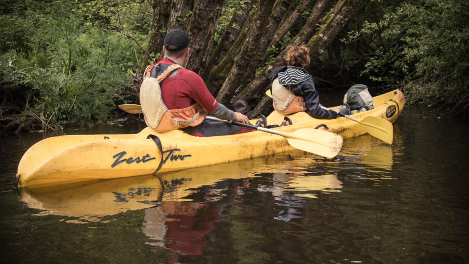 Station sport et nature à Belle-Isle-en-Terre - kayak