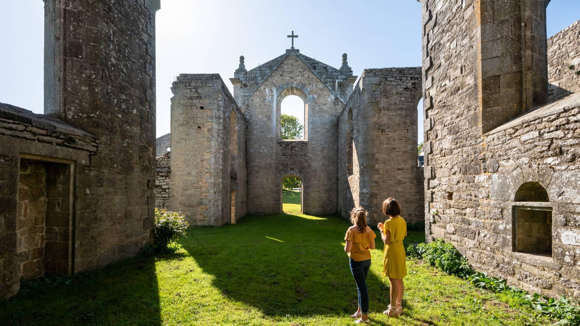 Abbaye de Coat Malouen Crédit : Emmanuel Berthier