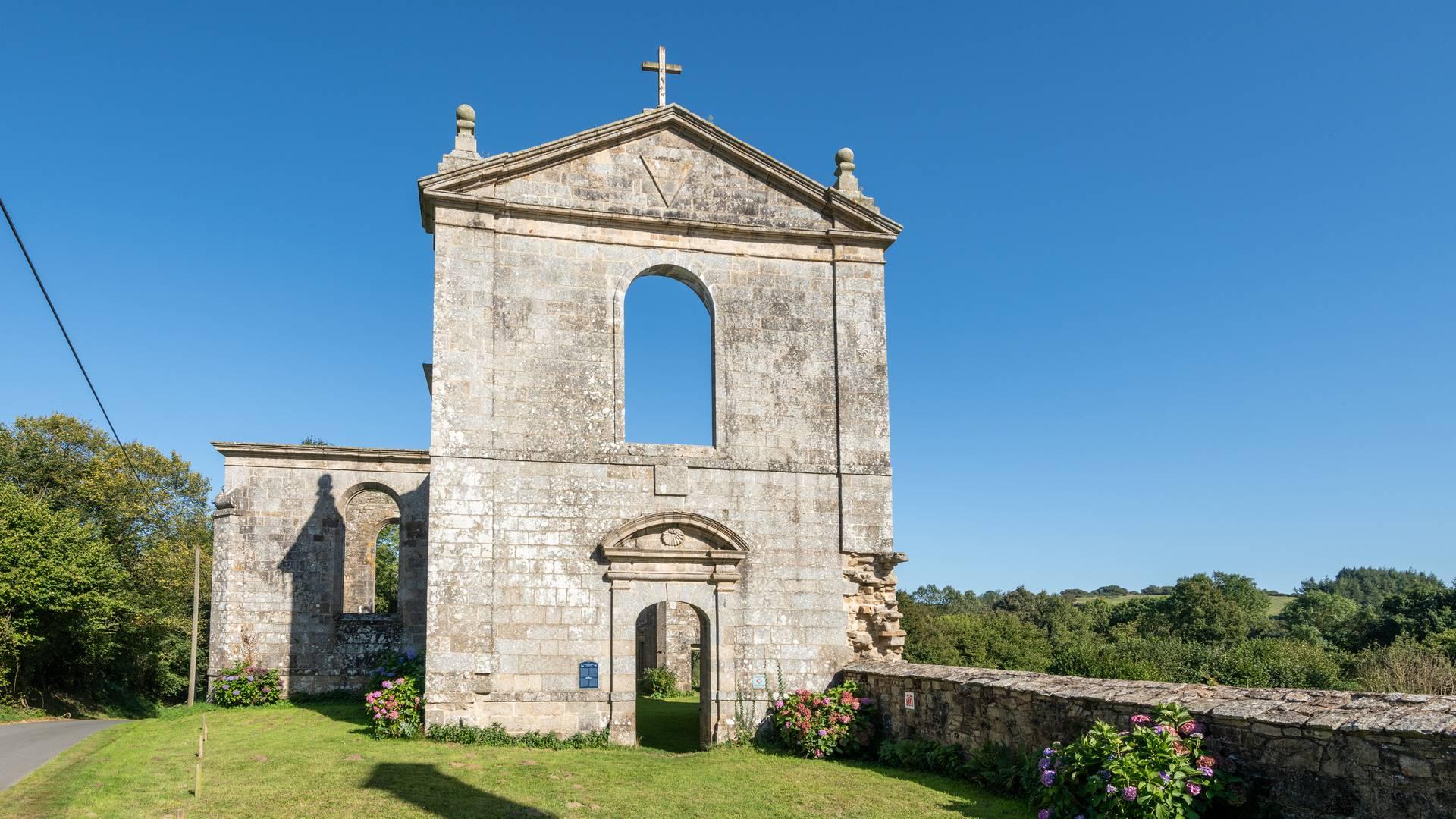 Abbaye de Coat Malouen @Emmanuel Berthier
