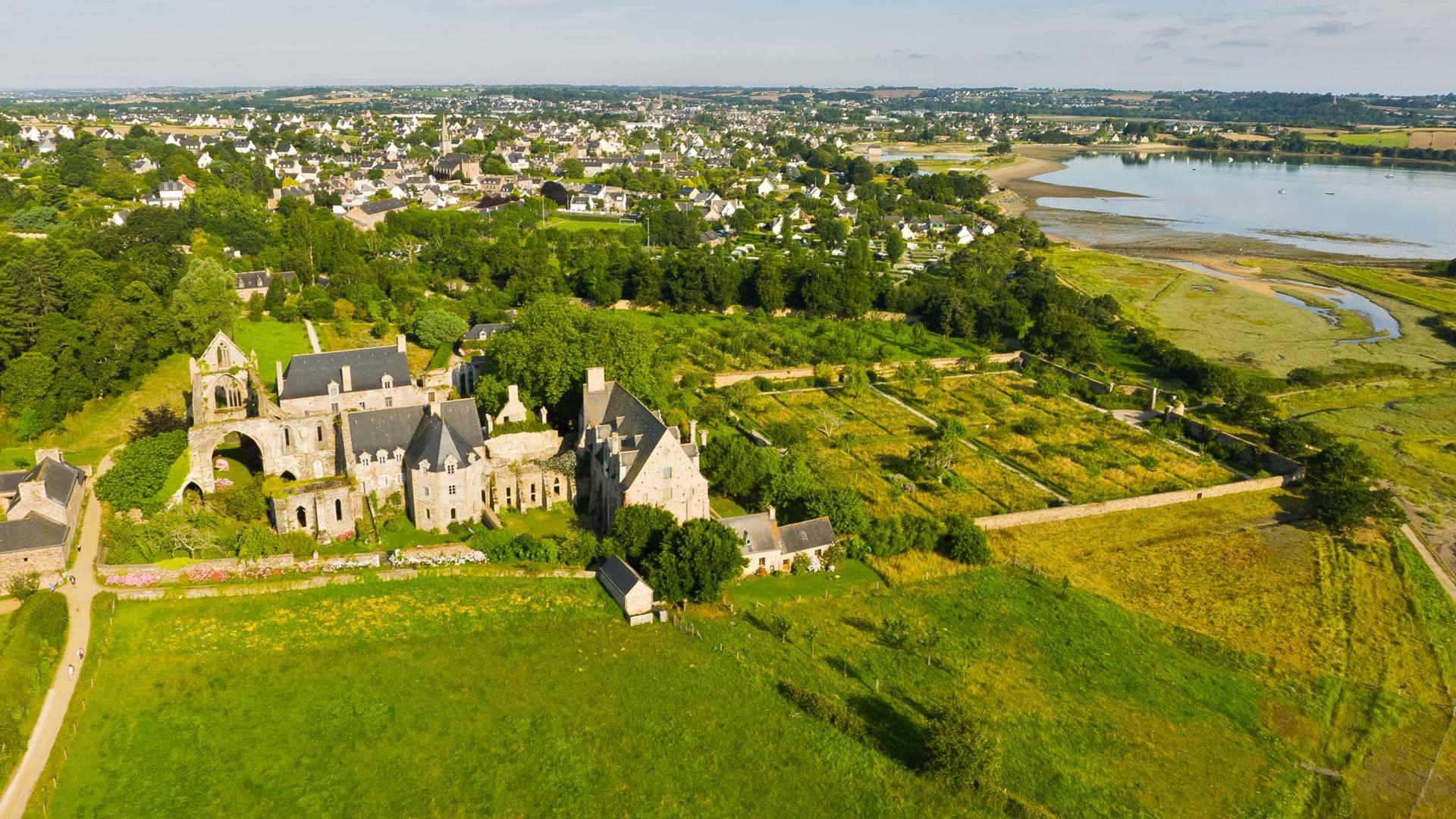 Abbaye de Beauport ©O. Durand