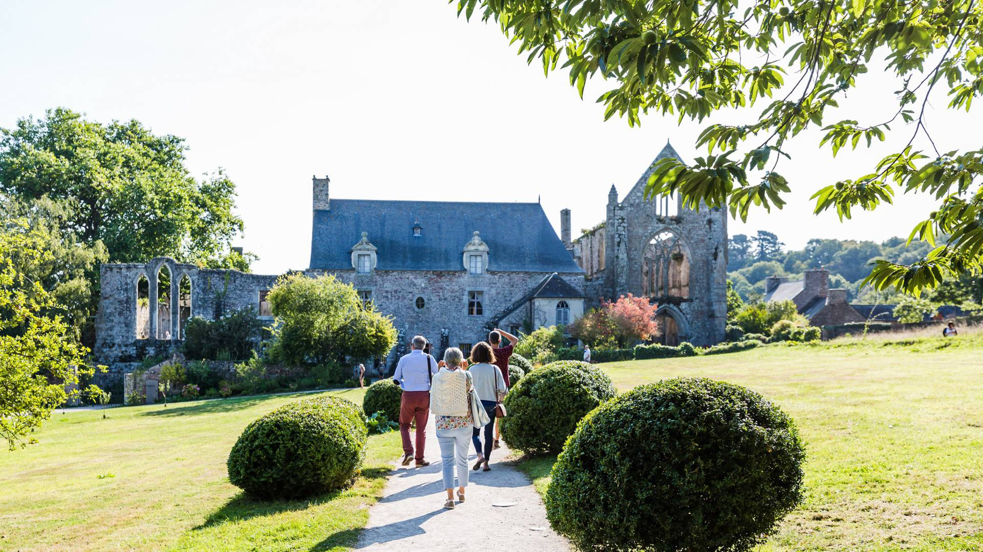 Abbaye de Beauport - l'Oeil de Paco