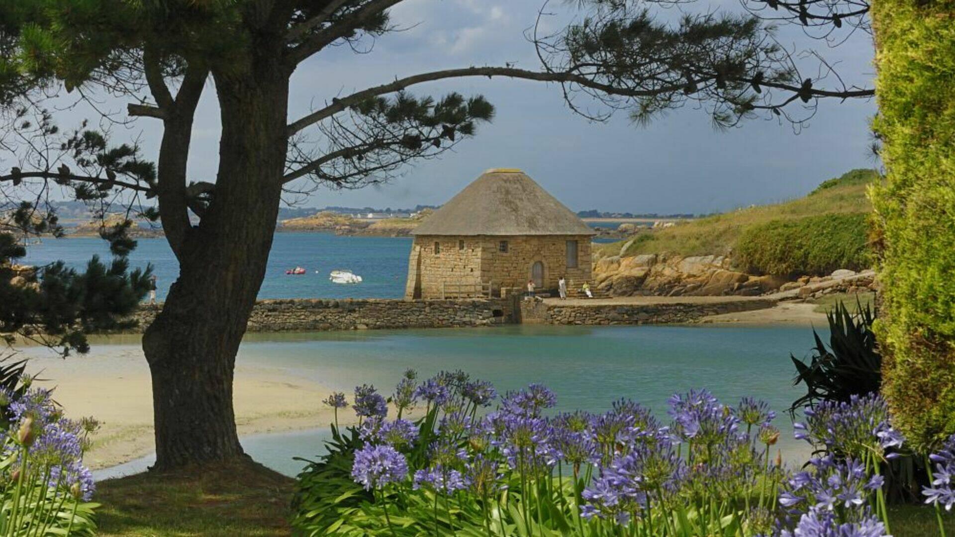 Moulin à marée sur l'île de Bréhat ©Le Gal Yannick