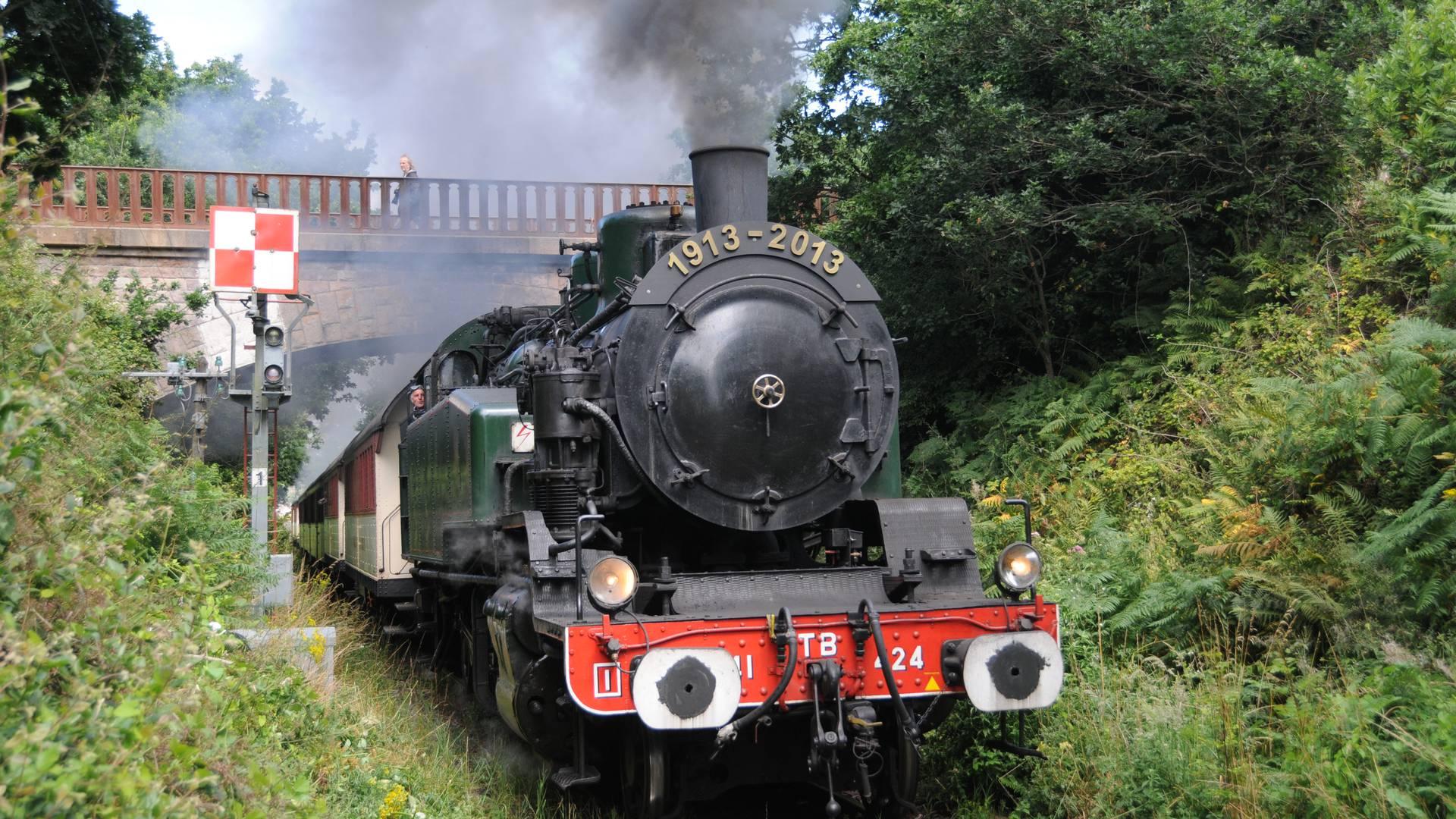 La Vapeur du Trieux, train touristique pour découvrir la Vallée du Trieux, Paimpol et Pontrieux ©D. Delattre