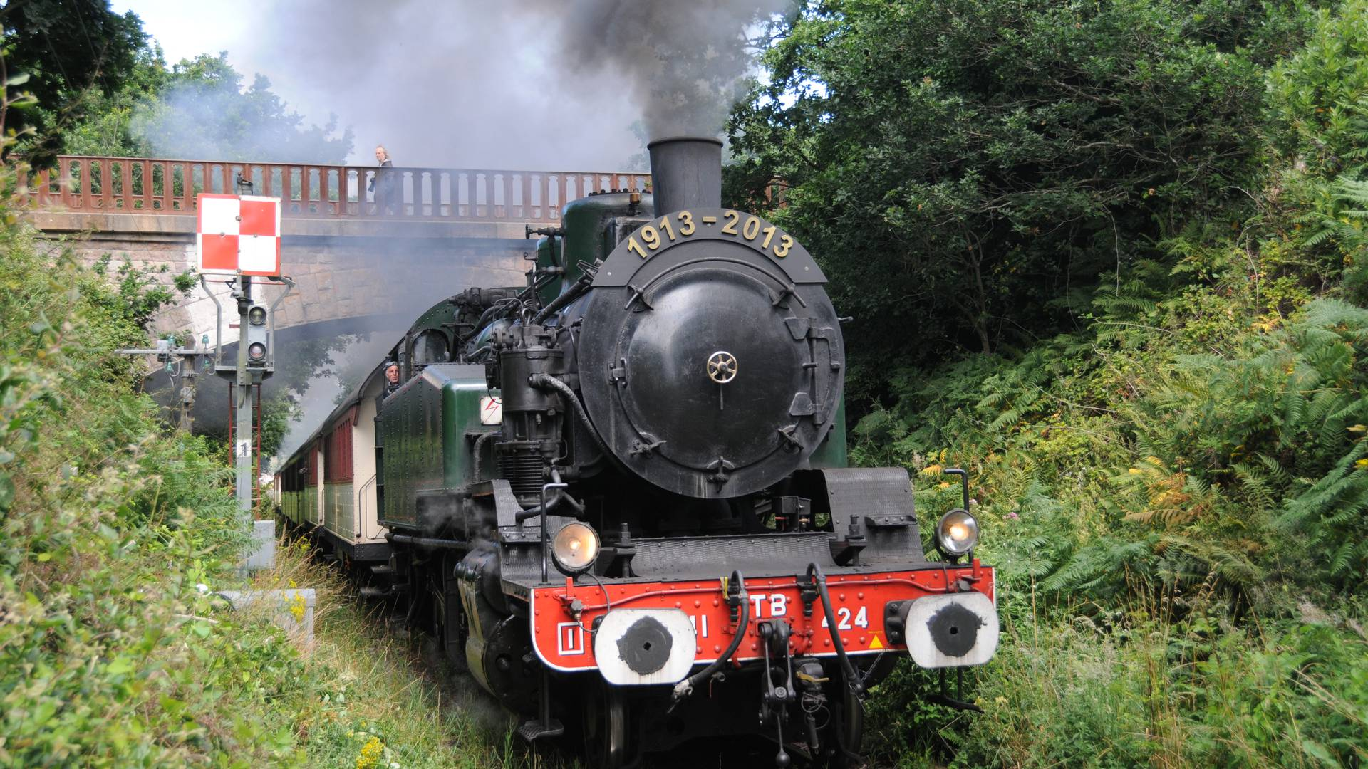 Der Dampfzug, Vapeur du Trieux ©Delattre