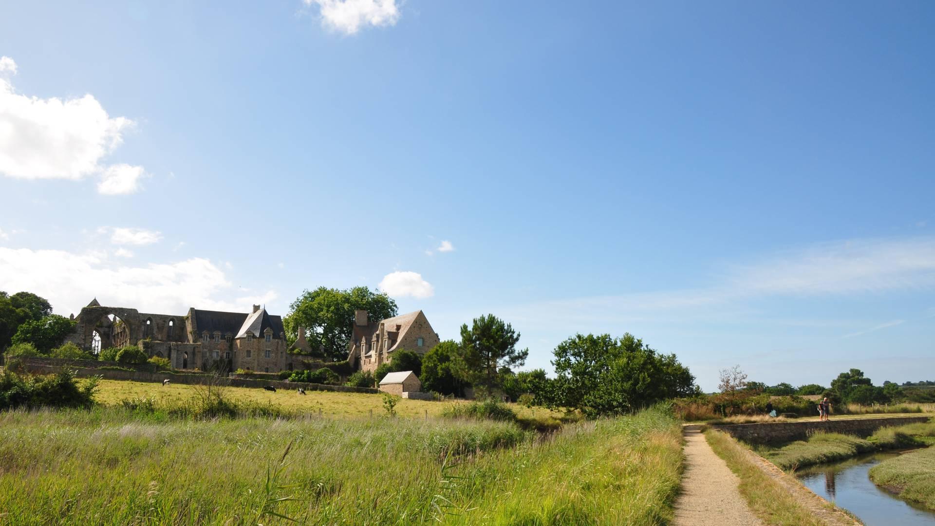 Die Abtei von Beauport ©Abbaye de Beauport