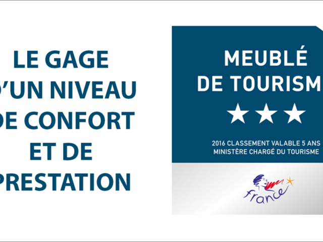 Logo classement meublé de tourisme