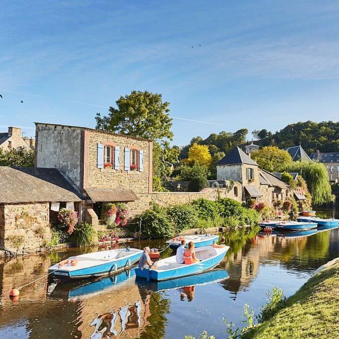 Promenades en barques à Pontrieux, Petite Cité de Caractère @Alexandre Lamoureux